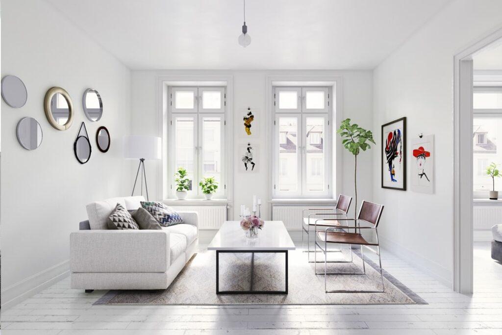 Ánh sáng được tận dụng tối đa trong các thiết kế tối giản (Ảnh sưu tầm)