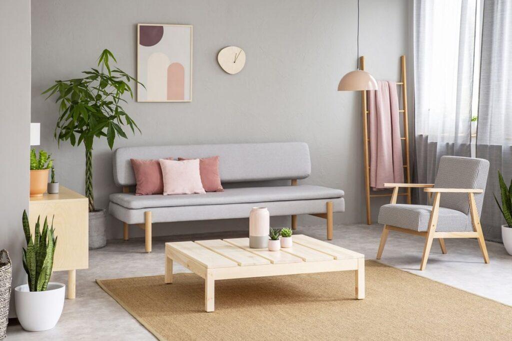 Đồ nội thất đơn giản được lựa chọn trong công trình theo hướng tối giản (Ảnh sưu tầm)