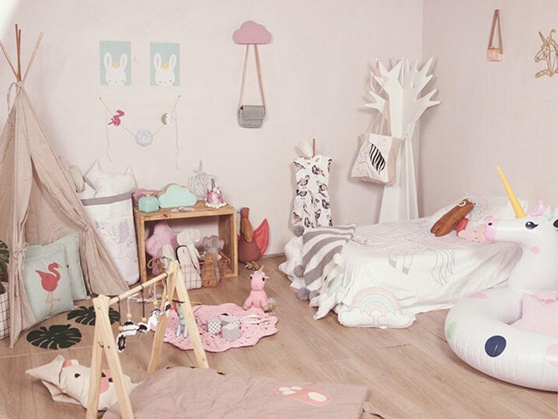 Phòng ngủ Unicorn ngộ nghĩnh, đáng yêu (Ảnh sưu tầm)