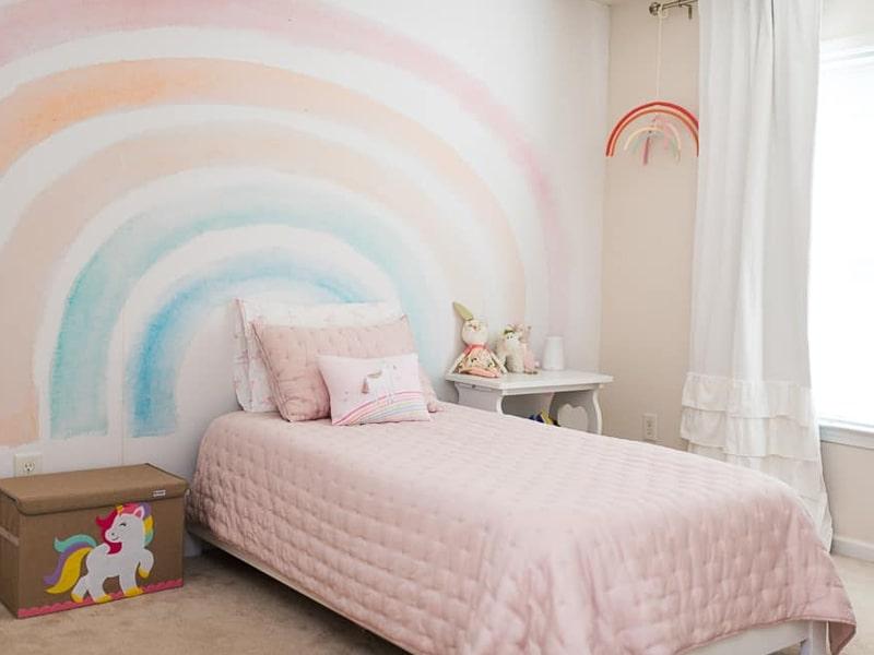 Phòng ngủ phong cách tối giản nhưng vẫn giữ được sự nữ tính (Ảnh sưu tầm)