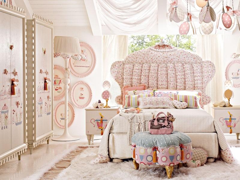 Phòng ngủ phong cách công chúa khiến các bé gái mê mẩn (Ảnh sưu tầm)