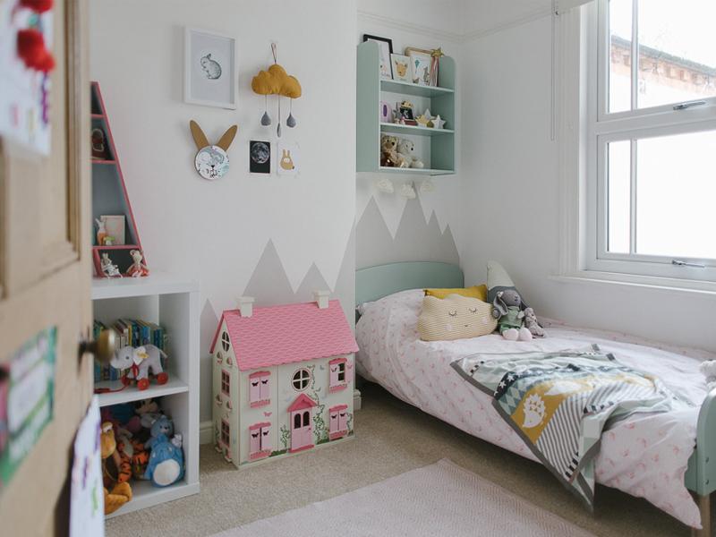 Mẫu phòng ngủ dành cho bé gái 10 tuổi vô cùng đáng yêu (Ảnh sưu tầm)