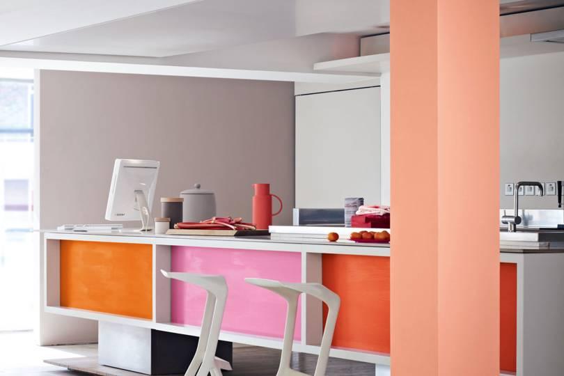 Các cách phối màu sơn nhà phù hợp với mệnh Hỏa
