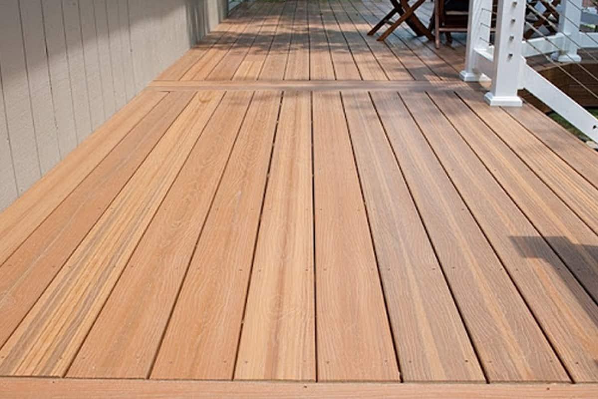Sàn gỗ thông có tuổi thọ khá cao. (Ảnh sưu tầm)