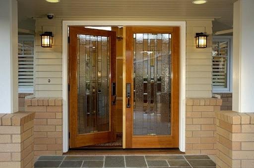 Kích thước cửa chính 2 cánh đều nhau