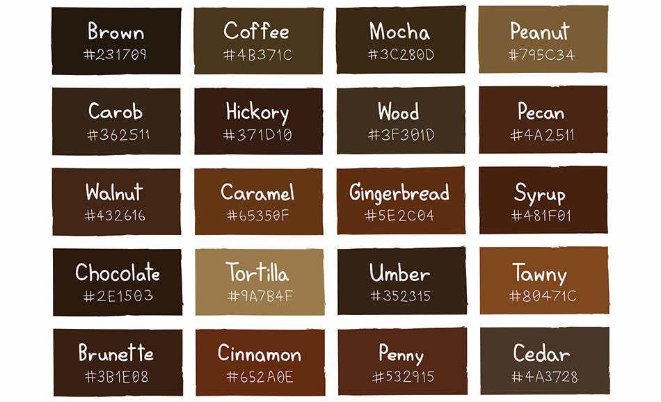 Màu nâu là màu sơn nhà đại diện cho người mệnh Thổ