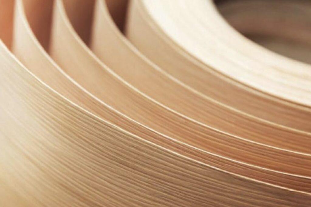 Gỗ Veneer là giải pháp tối ưu về sản xuất nội thất gỗ. (Ảnh sưu tầm)