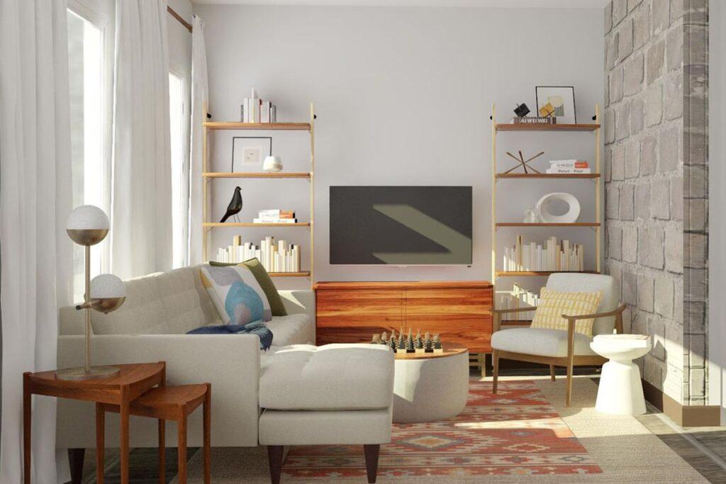 Kiến trúc sư cần lên thiết kế 3D cho công trình nội thất gỗ công nghiệp. (Ảnh sưu tầm)