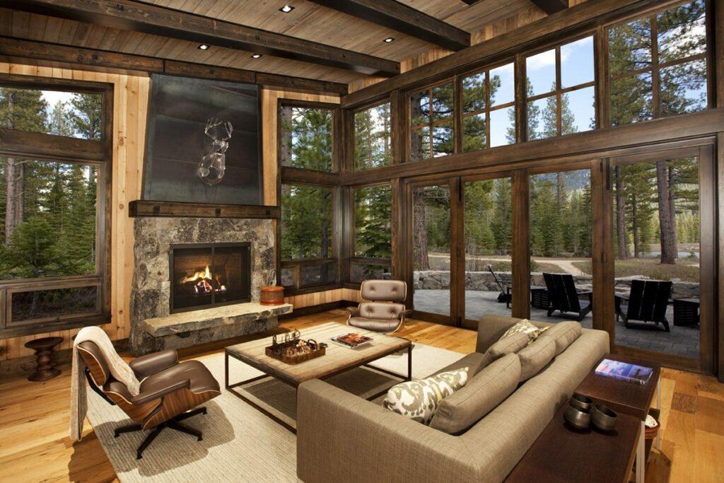 Nội thất gỗ tự nhiên được nhiều người ưa chuộng. (Ảnh sưu tầm)