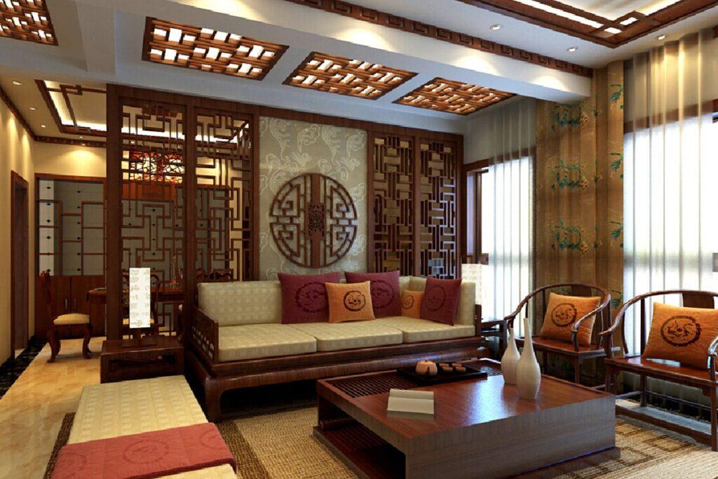 Bàn ghế gỗ tự nhiên giúp căn phòng trở nên sang trọng hơn. (Ảnh sưu tầm)