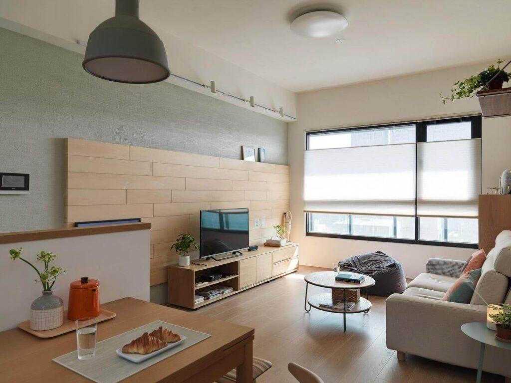 Thiết kế chung cư Nhật Bản luôn đề cao yếu tố đơn giản nhưng vẫn đảm bảo đẹp, đầy đủ tiện nghi. (Ảnh sưu tầm)