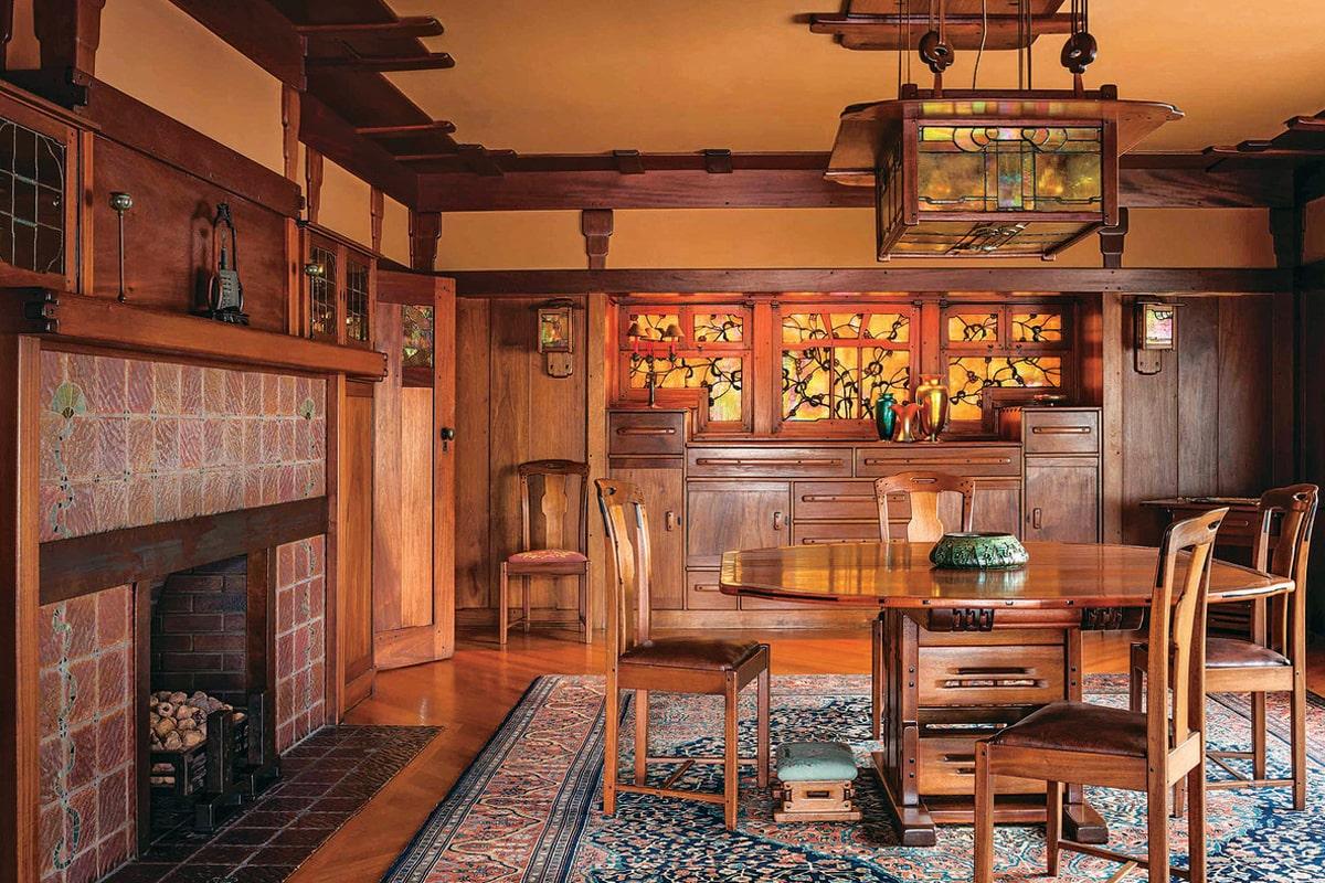 Phong cách thiết kế Art & Crafts ra đời ở Anh vào thế kỷ XIX. (Ảnh sưu tầm)