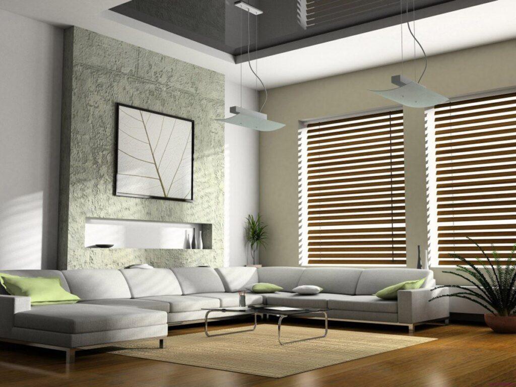Phong cách Hitech sử dụng các thiết bị điện tử thông minh trong thiết kế nội thất.  Ảnh minh họa sưu tầm