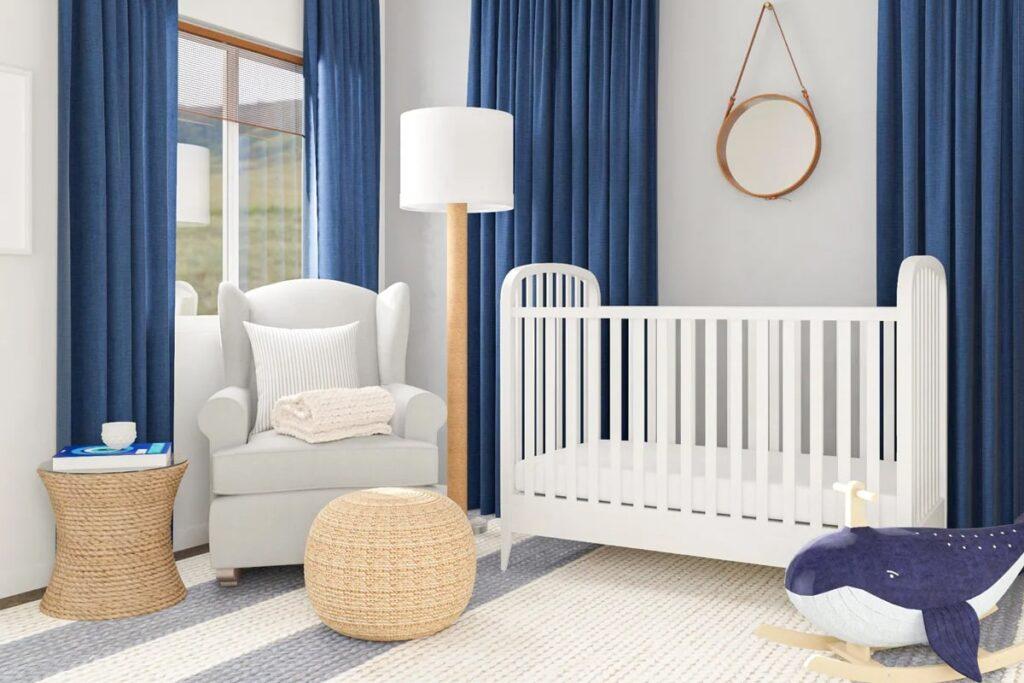 Ánh sáng ảnh hưởng lớn tới phong thủy phòng ngủ cho em bé