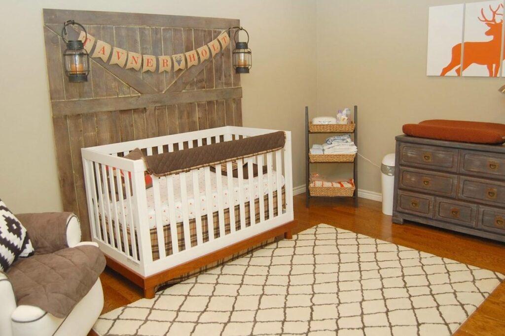 Theo phong thủy nên đặt phòng ngủ em bé ở nơi yên tĩnh, thoáng mát