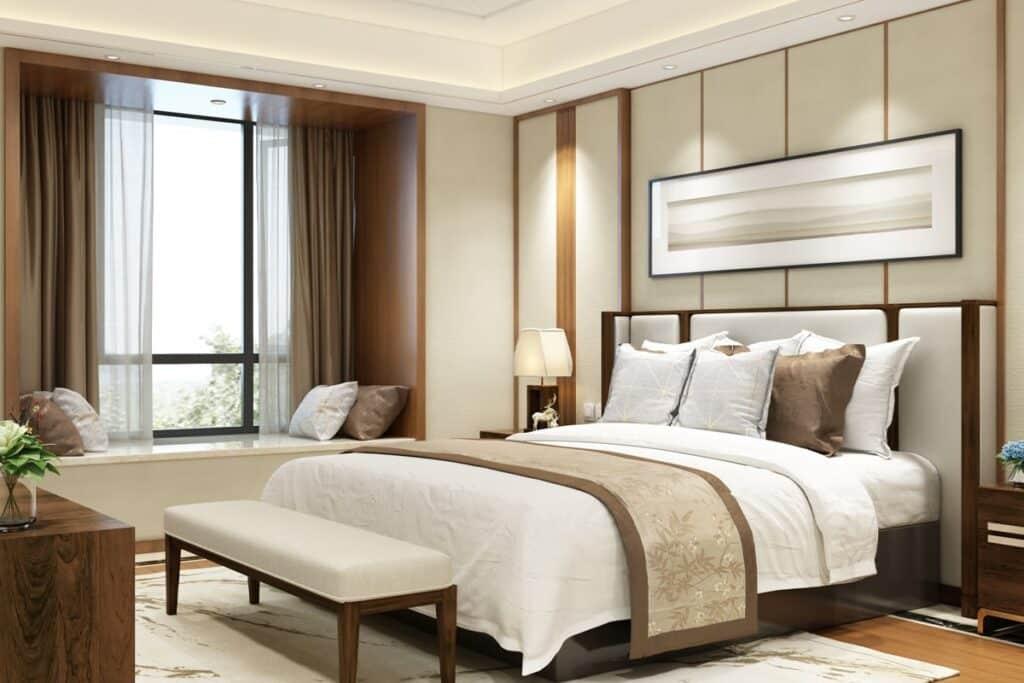 Phong thuỷ phòng ngủ ảnh hưởng đến sức khỏe, tinh thần của gia chủ