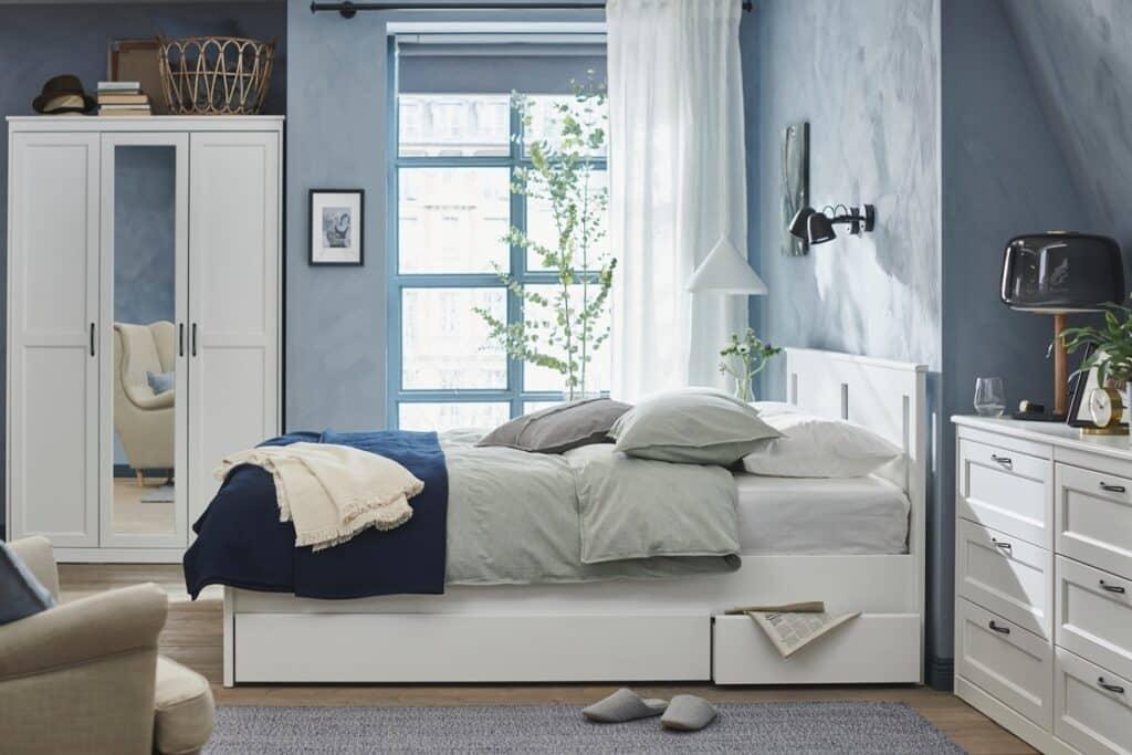 Nội thất phòng ngủ nên được bố trí hợp lý