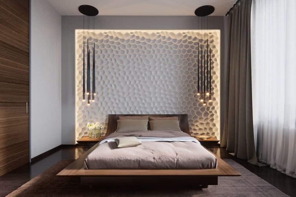 Giường ngủ làm bằng gỗ rất được ưa chuộng