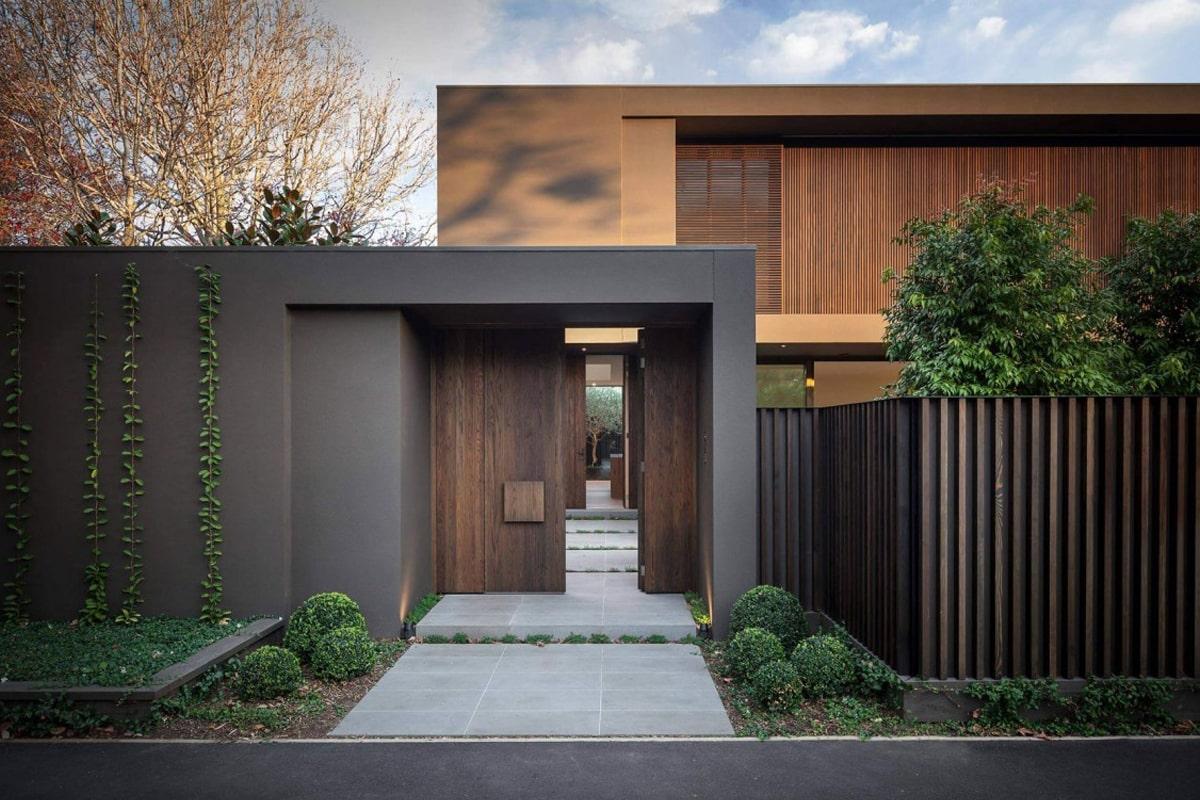 Các mẫu thiết kế cổng nhà rất đa dạng, phong phú. (Ảnh sưu tầm)