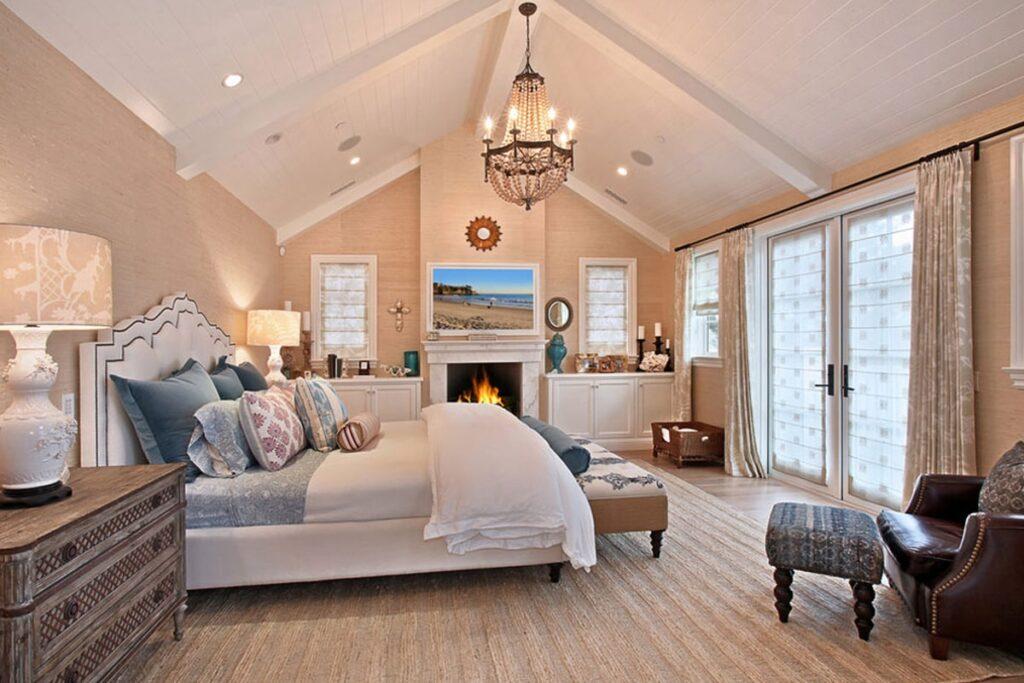Nên đặt giường cưới ở nơi có ánh sáng tự nhiên