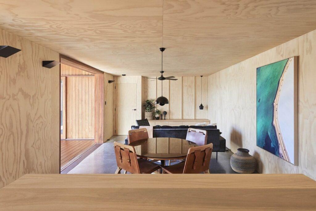 Gỗ ván ép được ứng dụng trong các công trình nhà ở. (Ảnh sưu tầm)
