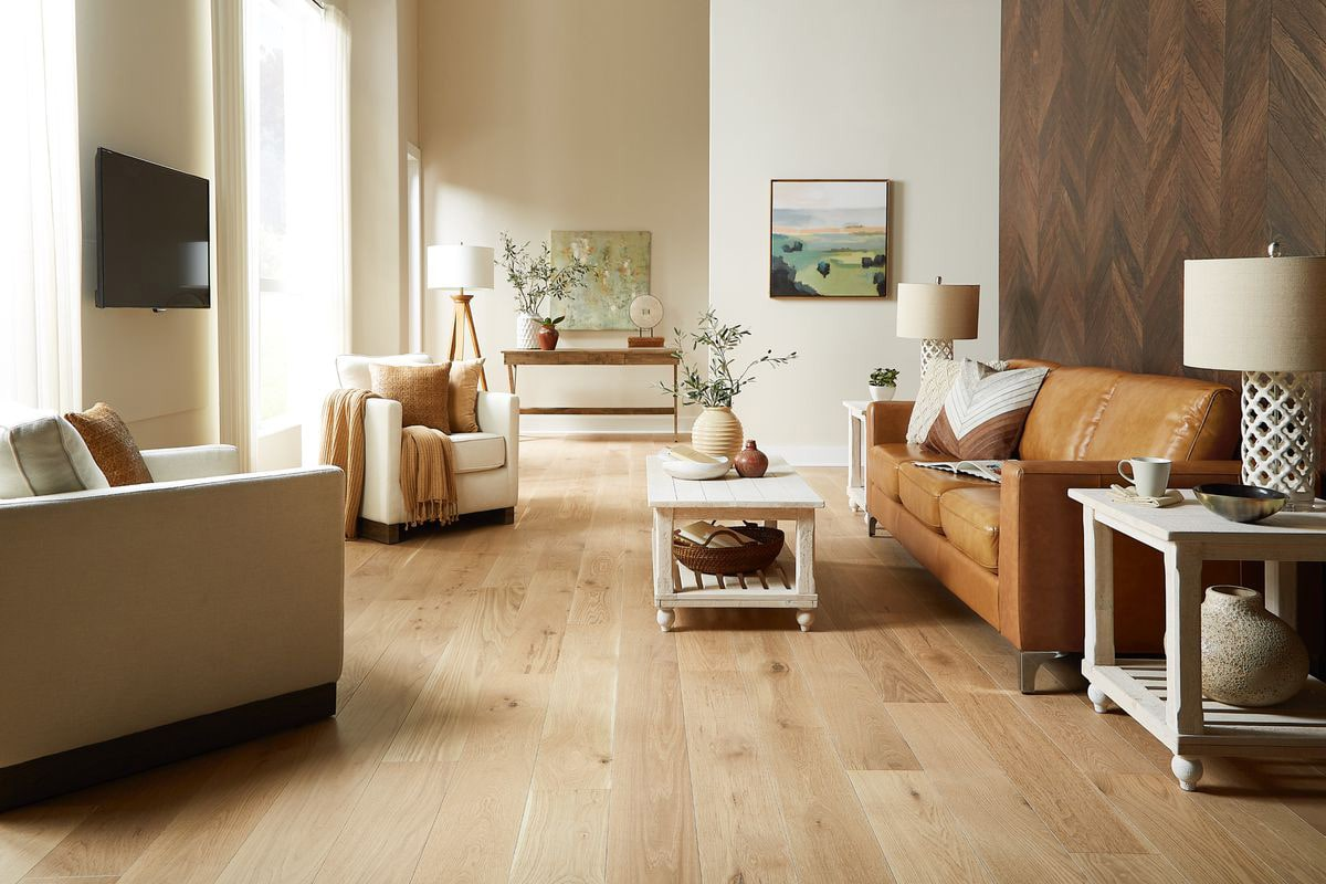 Sàn gỗ tần bì được sử dụng phổ biến trong thiết kế nội thất căn hộ, chung cư. (Ảnh sưu tầm)