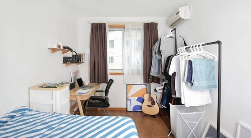 Sử dụng đồ nội thất second hand chất lượng giúp bạn tối ưu chi phí trong khi cải tạo phòng trọ. Ảnh sưu tầm
